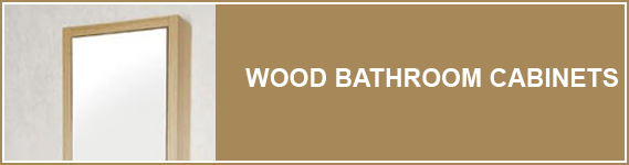 Wood Bathroom Cabinets