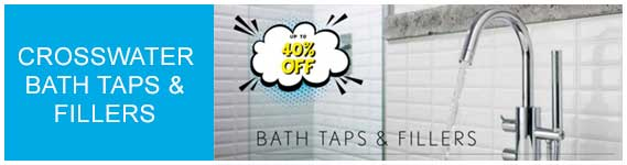 Crosswater Bath Taps and Fillers Sale
