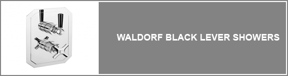 Waldorf Black Lever Showers