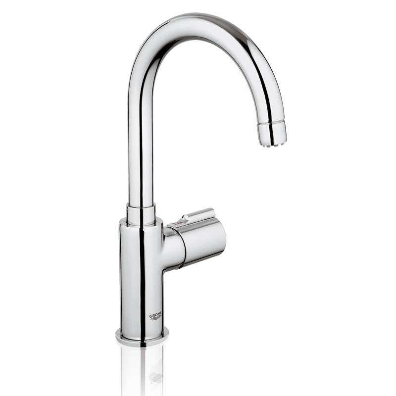 Red Mono Filter Boiling Water Tap \'C\' Spout Chrome - 30060000   Grohe