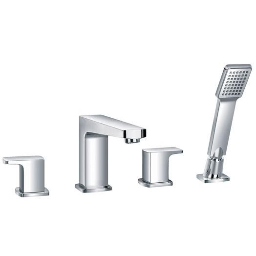 Dekka Four Hole Bath Shower Mixer