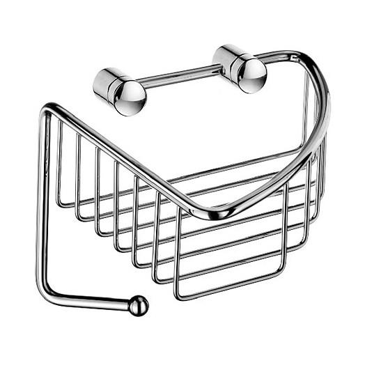Sideline Wall Single Corner Basket w. hook