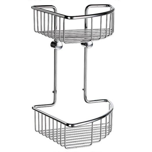 Sideline Wall Large Double Corner Basket