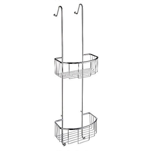 Sideline Double Hanging Shower Basket