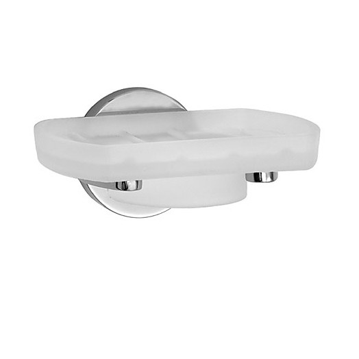 Loft Wall Mounted Glass Soap Dish And Holder