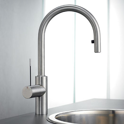Buy Ono Monobloc Tap With Pull Out Spray Chrome 10 151 102 000 Kwc