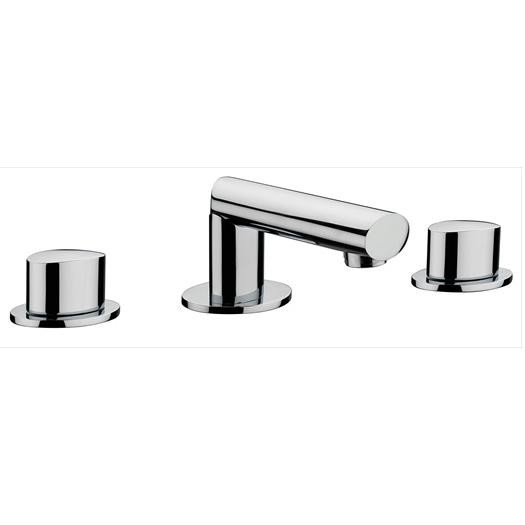 OV1 3 Hole Basin Mixer with Pop-up Waste