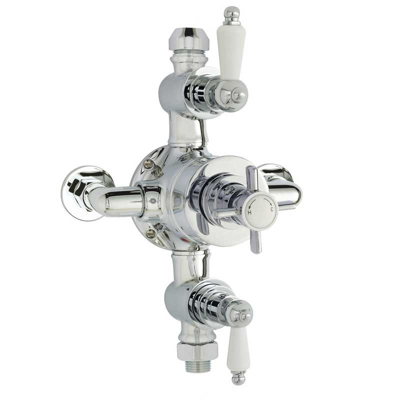 Home of Ultra | Beaumont Triple Exposed Shower Valve