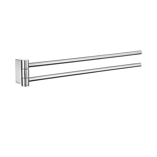 Air Wall Mounted Swing Arm Double Towel Rail