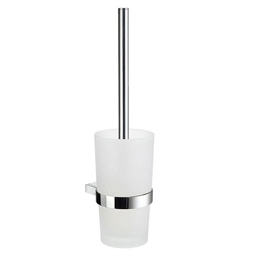 Air Wall Mounted Glass Toilet Brush Set