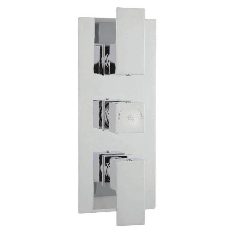 Hudson Reed | Art Triple Thermostatic Shower Valve | Tapstore.com