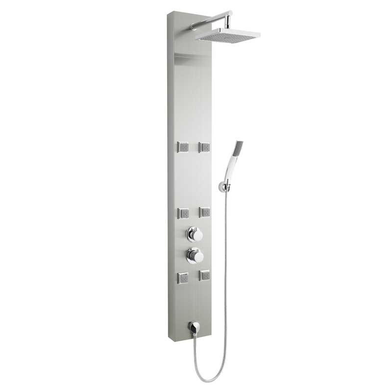 Hudson Reed Easton Thermostatic Shower Panel
