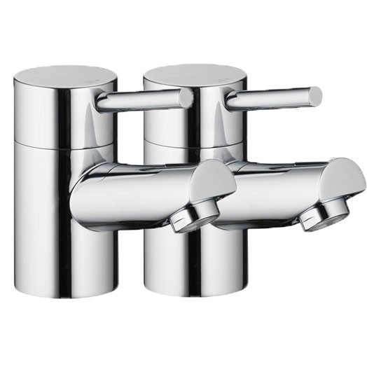 Xcite Basin Pillars Taps (Pair)