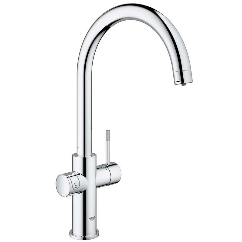 Buy Blue Home Mixer and Cold Filter Tap C Spout Chrome - 31455000 ...