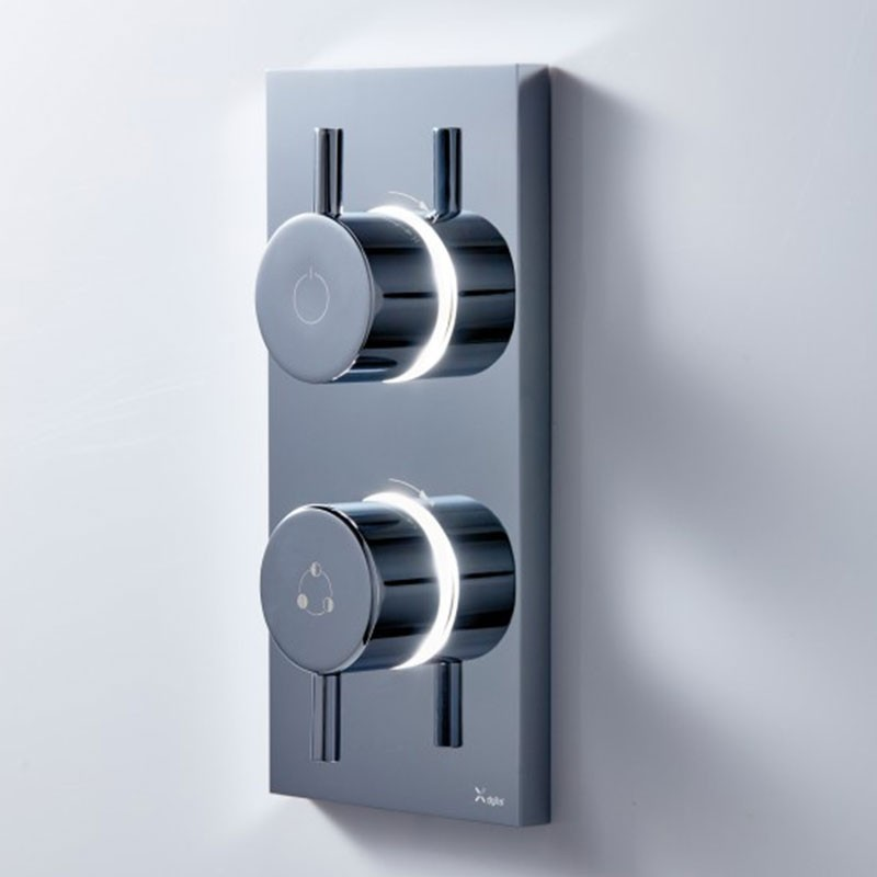 Crosswater Kai Dual Outlet Digital Shower Dual Outlet LP DUOKLHP