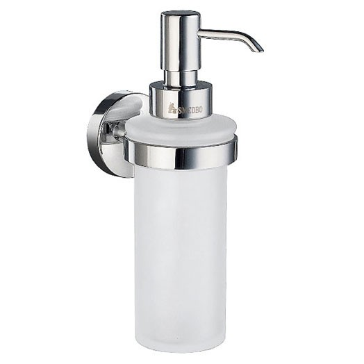 Home Wall Mounted Gl Soap Dispenser