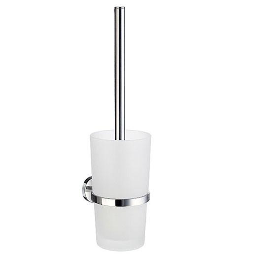 Home Wall Glass Toilet Brush Set