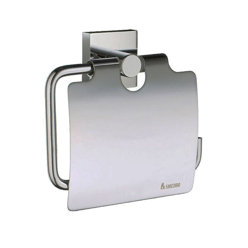 House Toilet Roll Holder With Lid RK3414