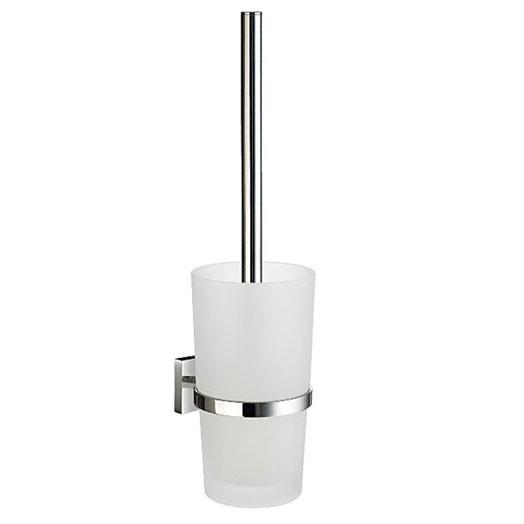 House Wall Glass Toilet Brush Holder