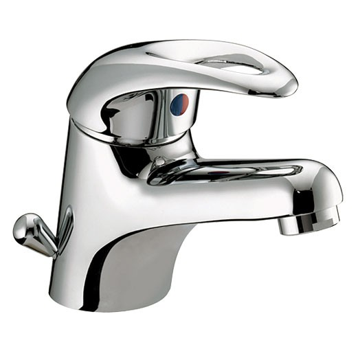 Java Basin Mixer With Side Action Waste