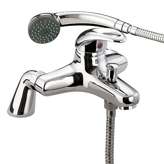 Java Pillar Bath Shower Mixer