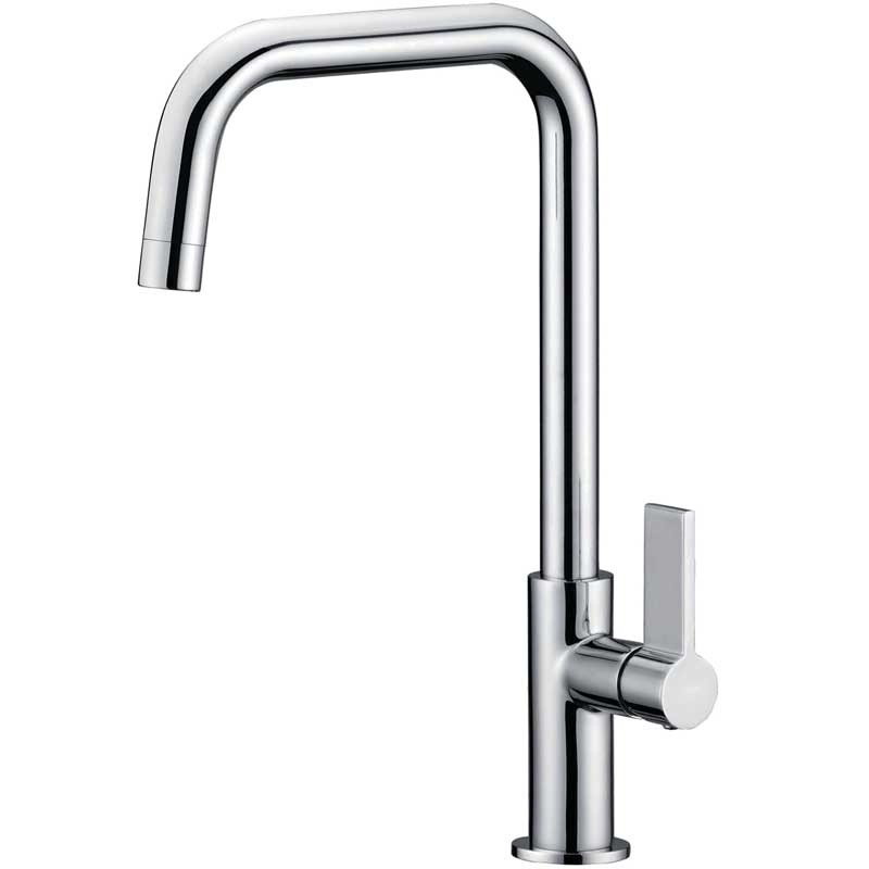 Clearwater Jovian Single Lever Monobloc With \'U\' Swivel Spout Chrome.