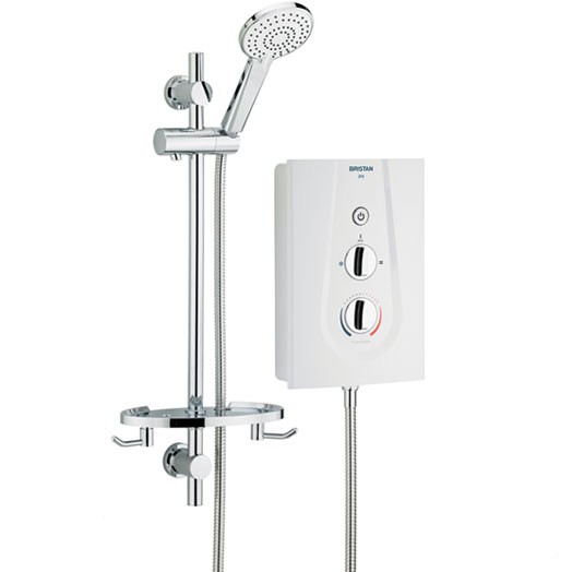 Joy 9.5kW Thermosafe Electric Shower White (Showers)