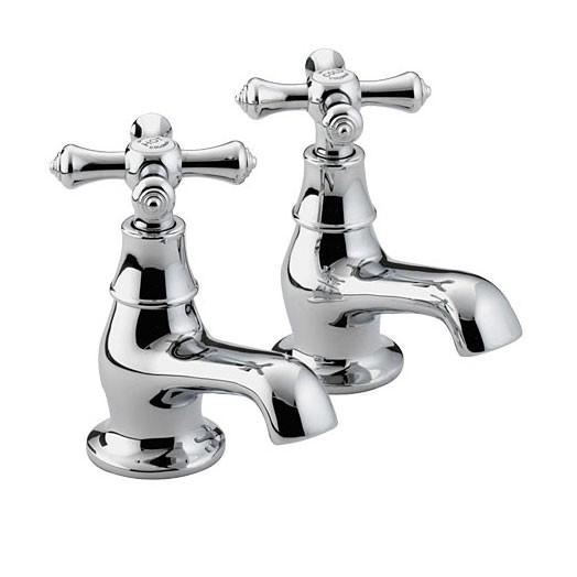 Colonial Bath Taps Chrome