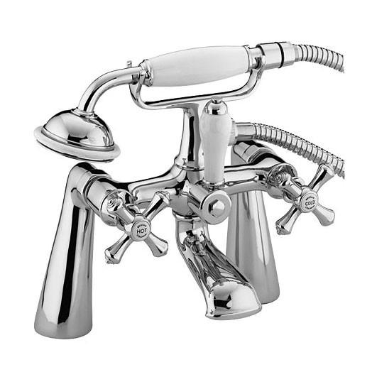 Colonial Bath Shower Mixer Chrome