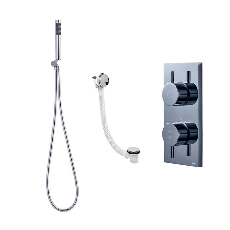 Crosswater Kai Digital Shower Dual Outlet KAIPACK 10 LP
