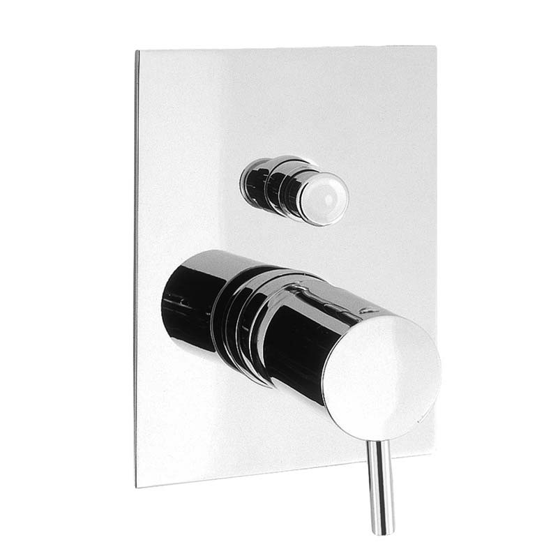 Crosswater | Kai Lever Recessed Manual Shower Valve with Diverter
