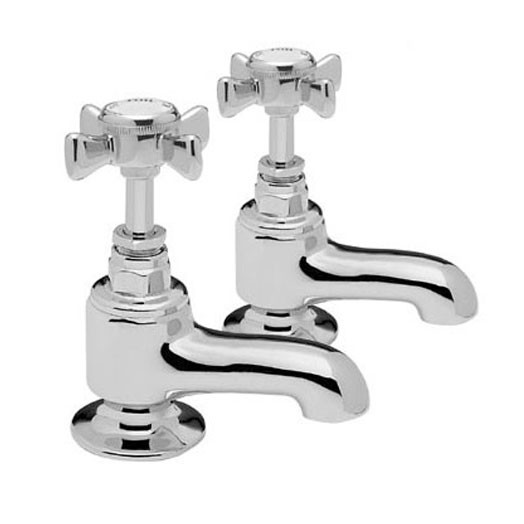 Knightsbridge Bath Taps (Pair)