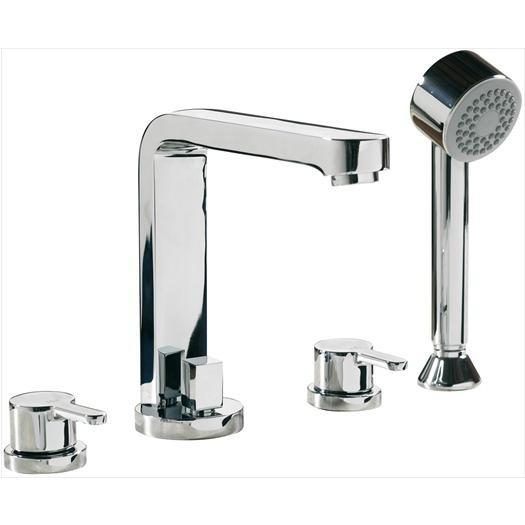 LA3 4 Hole Bath Shower Mixer