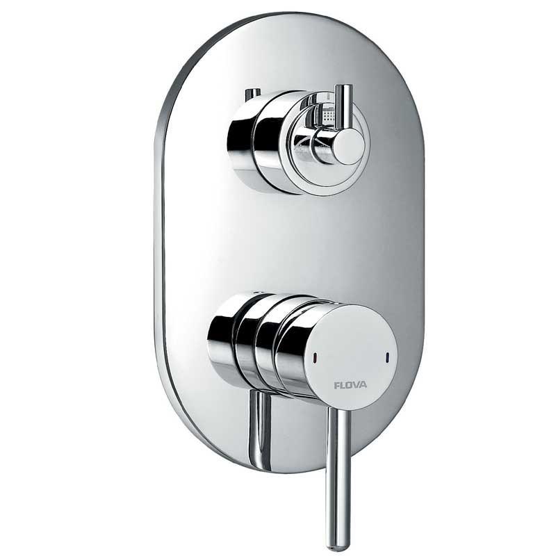 Flova UK | Levo Concealed Manual Shower Valve with 3 Way Diverter