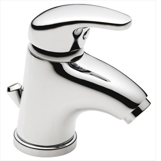PL4 Mini Basin Mixer with Pop Up Waste