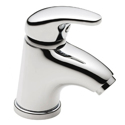 PL4 Eco Mini Basin Mixer No Pop-up Waste