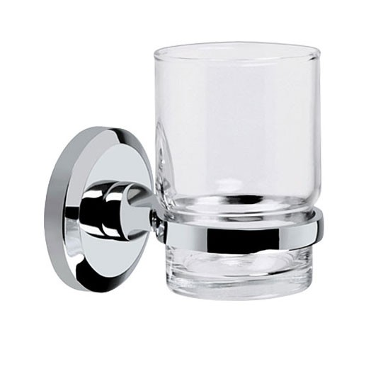 Solo Glass Tumbler And Holder