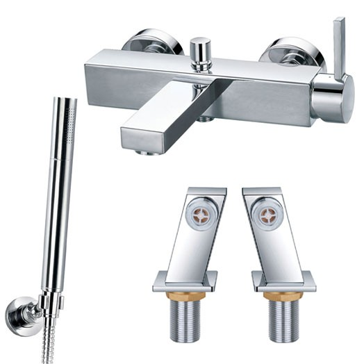 STR8 Single Lever Deck Bath Shower Mixer