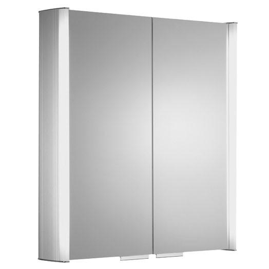 Summit Double Door Bathroom Cabinet With Light