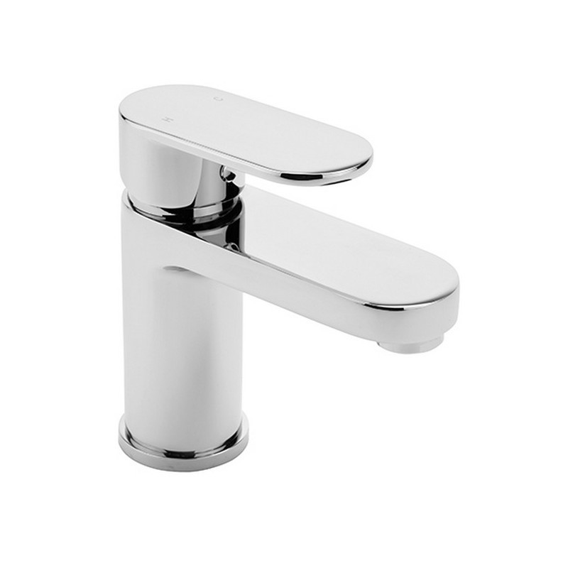 WD4 Basin Mixer with Push Button Waste
