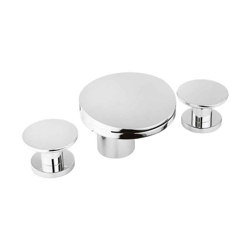 Crosswater Water Circle 3 Hole Basin Set No Waste