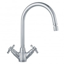 Rotaflow Kitchen Mixer Silk Steel