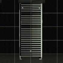 TS 600 x 1150 Towel Rail Curved Chrome