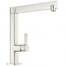 XXX Single Lever Sink Mixer Brushed Steel