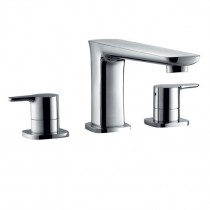 Urban Three Hole Bath Filler