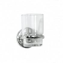 Wessex Glass Tumbler & Holder