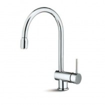 X-T Monobloc Sink Mixer with Pull Out Aerator Chrome