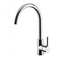 Real Monobloc Sink Mixer Brushed Nickel
