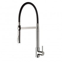 Real Sink Mixer Double Jet Spray Brushed Nickel