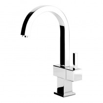 Quadro Cold Rinse Tap Brushed Steel
